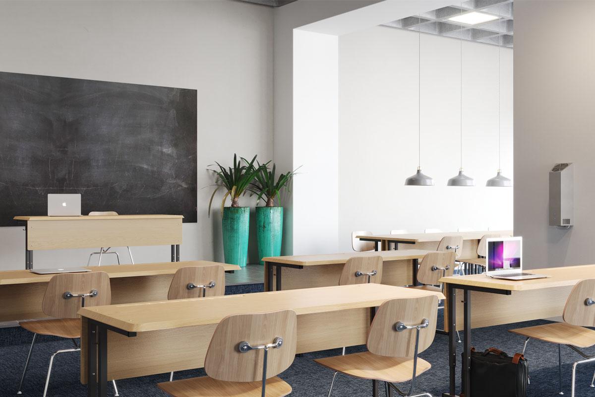 Airfree WM classroom