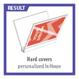 Hard Covers personalized in House