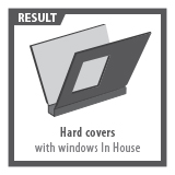 Hard Covers with window to order