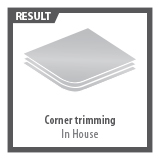 Corner trimming