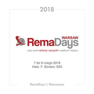 RemaDays 2018