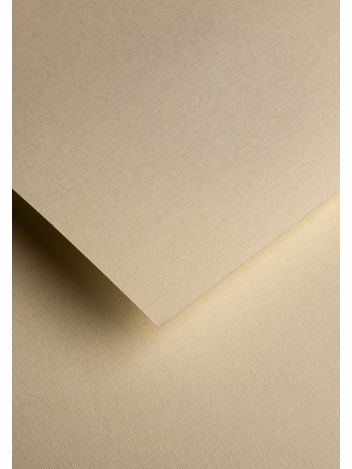 Wysokiej jakości papier ozdobny - O.Papiernia LEN - 230 g/m² - kremowy - 20 sztuk