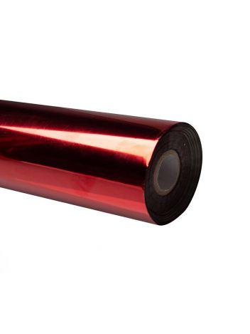 Folia do złoceń, nabłyszczeń w rolce na wydrukach laserowych przy użyciu termotransferu - O.FOIL Toner Print - 64 cm x 200 m - czerwony