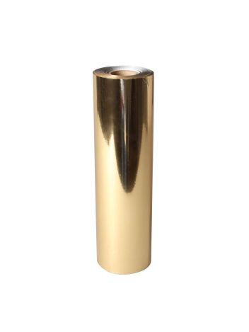 Uniwersalna folia do złoceń, nabłyszczeń w rolce - O.FOIL PREMIUM - 32 cm x 120 m - złoty