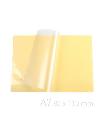 Folia laminacyjna samoprzylepna - O.POUCH Sticky 80 x 110 mm (A7)