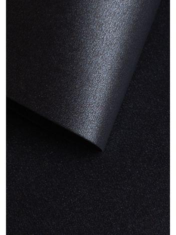 Wysokiej jakości papier ozdobny - O.Papiernia PERŁA - 250 g/m² - czarny - 20 sztuk