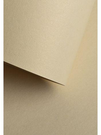 Wysokiej jakości papier ozdobny - O.Papiernia PERŁA - 250 g/m² - kremowy - 20 sztuk