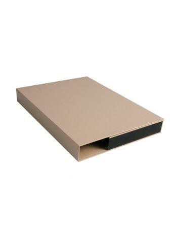 Teczka na dokumenty - PresentationBOX Europe - 320 x 235 mm (A4+ pionowa) - 30 mm - czarny - 10 sztuk