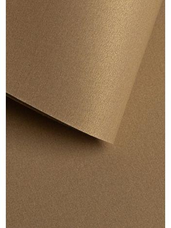 Wysokiej jakości papier ozdobny - O.Papiernia PERŁA - 250 g/m² - złoty - 20 sztuk