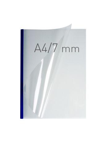 O.EASY COVER Double Clear - (7 mm) - 297 x 210 mm (A4 pionowa) - niebieski - 40 sztuk