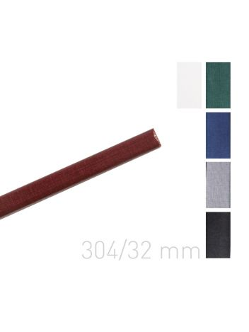 Kanał oklejany - O.CHANNEL Classic 304 mm (A3+ poziomo, A4+ pionowo) - 32 mm - szary - 10 sztuk