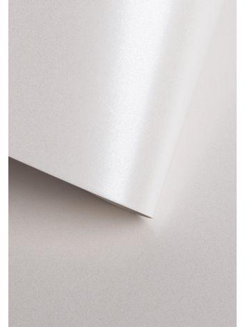 Wysokiej jakości papier ozdobny - O.Papiernia PERŁA - 250 g/m² - biały - 20 sztuk