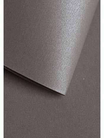 Wysokiej jakości papier ozdobny - O.Papiernia PERŁA - 250 g/m² - ciemnoszary - 20 sztuk