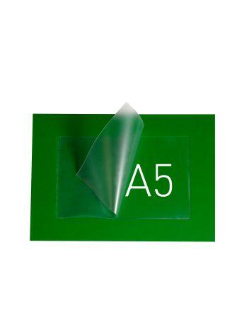 O.POUCH DISPLAY 218 x 282 mm (A5) - zielony - 20 sztuk