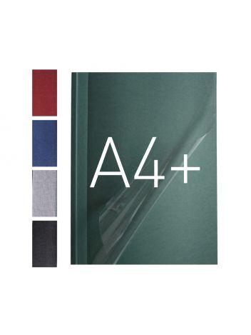 Okładka miękka z przezroczystym przodem - O.SOFTCLEAR A (10 mm) 299 x 214 mm (A4+ pionowa) - niebieski - 10 sztuk