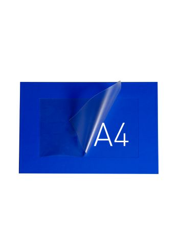 O.POUCH DISPLAY 290 x 379 mm (A4) - niebieski - 20 sztuk