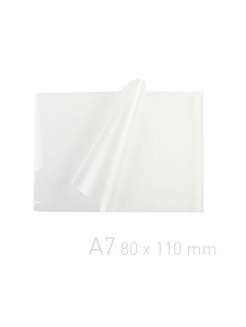 Folia laminacyjna - O.POUCH Super 80 x 110 mm (A7) - 80 µm - 100 sztuk