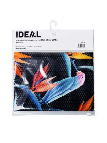 Pokrowiec dekoracyjny ze wzorem do oczyszczaczy powietrza IDEAL AP 30 / 40 PRO - papugi