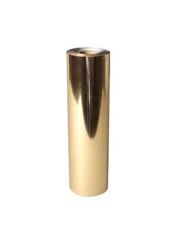 Uniwersalna folia do złoceń, nabłyszczeń w rolce - O.FOIL BASIC - 21 cm x 120 m - złoty