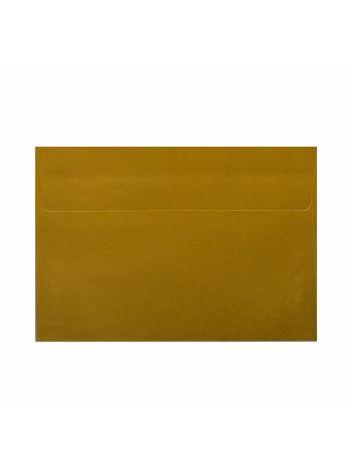 Wysokiej jakości koperty ozdobne - O.Koperta C6 - PERŁA - 120 g/m² - złoty - 10 sztuk