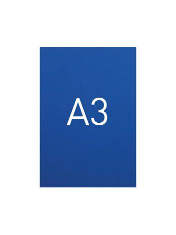 Miękka okładka kartonowa z połyskiem - O.EXCLUSIVE 420 x 297 mm (A3) - 100 arkuszy - niebieski