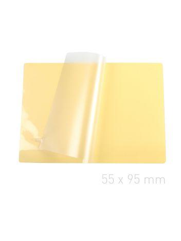 Folia laminacyjna samoprzylepna - O.POUCH Sticky 55 x 95 mm (wizytówkowa)