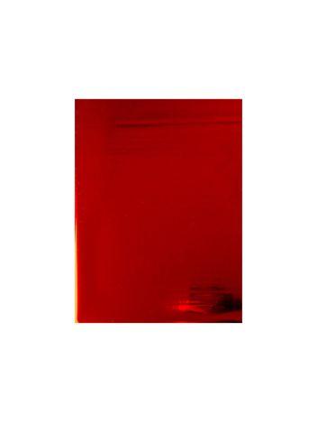 Folia do złoceń, nabłyszczeń w arkuszach na wydrukach laserowych przy użyciu termotransferu - O.FOIL Toner Print - A4 (297 x 210 mm) - czerwony metaliczny - 100 sztuk