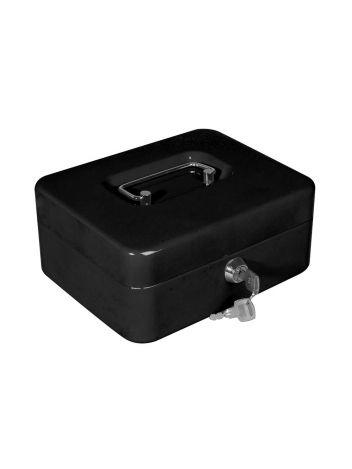 Zamykana metalowa kasetka na banknoty i bilon - OPUS Cash Guard PC 2 - czarny