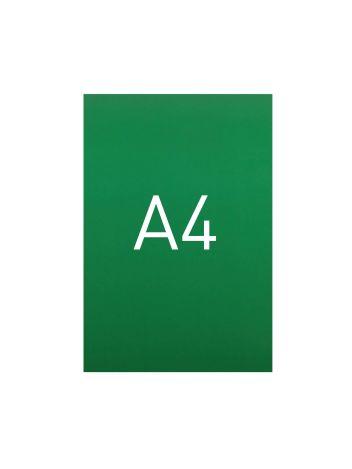 Miękka okładka kartonowa z połyskiem - O.EXCLUSIVE 297 x 210 mm (A4) - 100 arkuszy - zielony