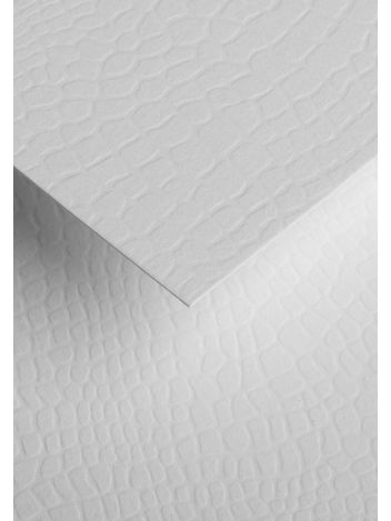Wysokiej jakości papier ozdobny - O.Papiernia KAMIENIE - 230 g/m² - biały - 20 sztuk