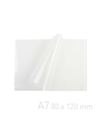 Folia laminacyjna - O.POUCH Super 80 x 120 mm (A7) - 125 µm - 100 sztuk
