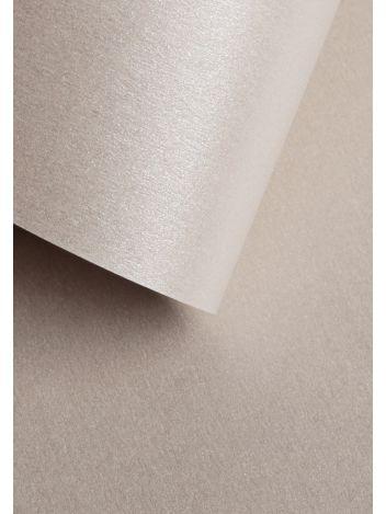 Wysokiej jakości papier ozdobny - O.Papiernia PERŁA - 250 g/m² - srebrny - 20 sztuk