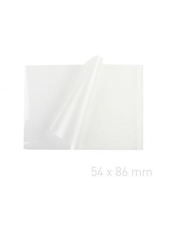 Folia laminacyjna - O.POUCH Super 54 x 86 mm (wizytówkowa) - 100 sztuk