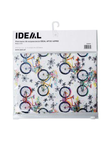 Pokrowiec dekoracyjny ze wzorem do oczyszczaczy powietrza IDEAL AP 30 / 40 PRO - rowery