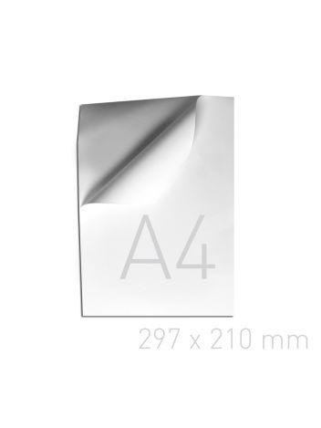 Samoprzylepna wyklejka do okładek indywidualnych - O.LINER SA POBC 297 x 210 mm (A4) - 120 g/m2 - biały - 100 sztuk
