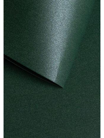 Wysokiej jakości papier ozdobny - O.Papiernia PERŁA - 250 g/m² - zielony - 20 sztuk