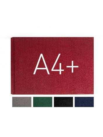 Okładka twarda - O.HARD COVER Classic 217 x 300 mm (A4+ pozioma) - czarny - 10 par