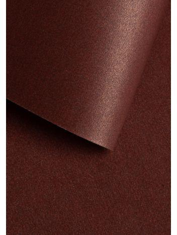 Wysokiej jakości papier ozdobny - O.Papiernia PERŁA - 250 g/m² - bordowy - 20 sztuk