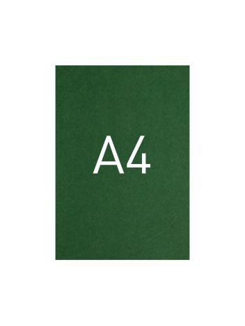 Okładka kartonowa o fakturze skóry - O.UNIVERSAL - 297 x 210 mm (A4) - 100 arkuszy - zielony