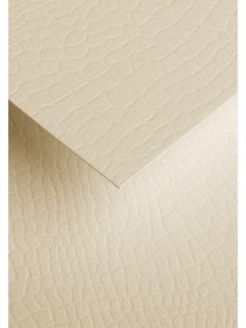 Wysokiej jakości papier ozdobny - O.Papiernia KAMIENIE - 230 g/m² - kremowy - 20 sztuk