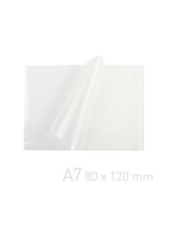 Folia laminacyjna - O.POUCH Super 80 x 120 mm (A7) - 80 µm - 100 sztuk