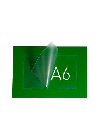 O.POUCH DISPLAY 165 x 211 mm (A6) - zielony - 20 sztuk