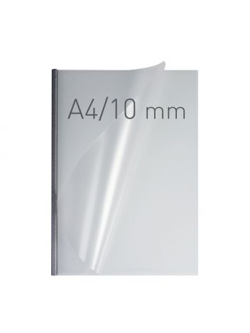 O.EASY COVER Double Semi Matt - (10 mm) - 297 x 210 mm (A4 pionowa) - srebrny - 30 sztuk
