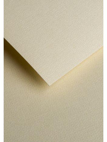 Wysokiej jakości papier ozdobny - O.Papiernia ILUZJA - 230 g/m² - kremowy - 20 sztuk