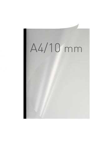 O.EASY COVER Double Semi Matt - (10 mm) - 297 x 210 mm (A4 pionowa) - czarny - 30 sztuk