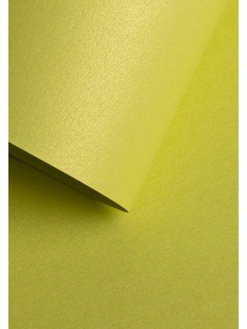 Wysokiej jakości papier ozdobny - O.Papiernia PERŁA - 250 g/m² - jasnozielony - 20 sztuk