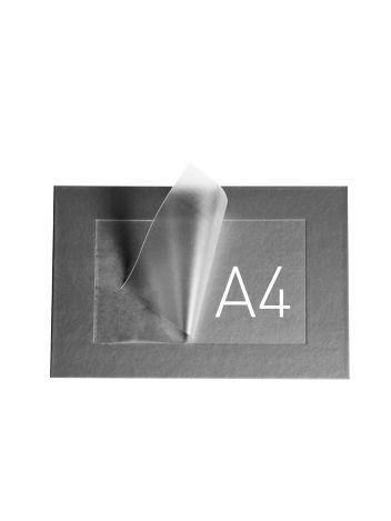 O.POUCH DISPLAY 290 x 379 mm (A4) - srebrny - 20 sztuk