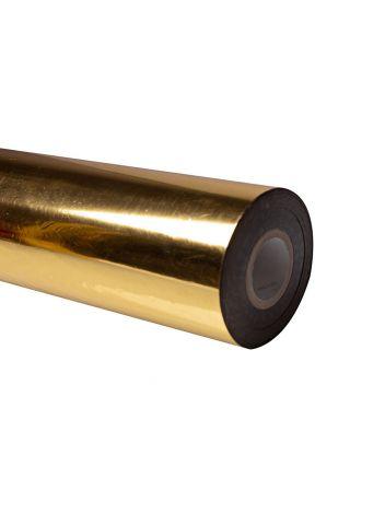 Folia do złoceń, nabłyszczeń w rolce na wydrukach laserowych przy użyciu termotransferu - O.FOIL Toner Print - 64 cm x 200 m - złoty