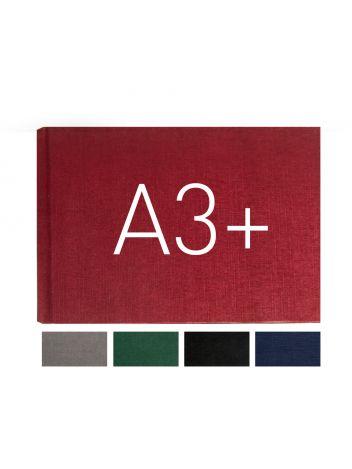 Okładka twarda - O.HARD COVER Classic 304 x 423 mm (A3+ pozioma) - czarny - 10 par