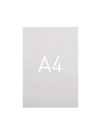 Miękka okładka kartonowa z połyskiem - O.EXCLUSIVE 297 x 210 mm (A4) - 100 arkuszy - biały